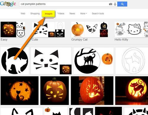 Click the IMAGES button at the top of Google to get pictures of the patterns.